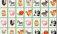 Маджонг Соединить Пары Животных